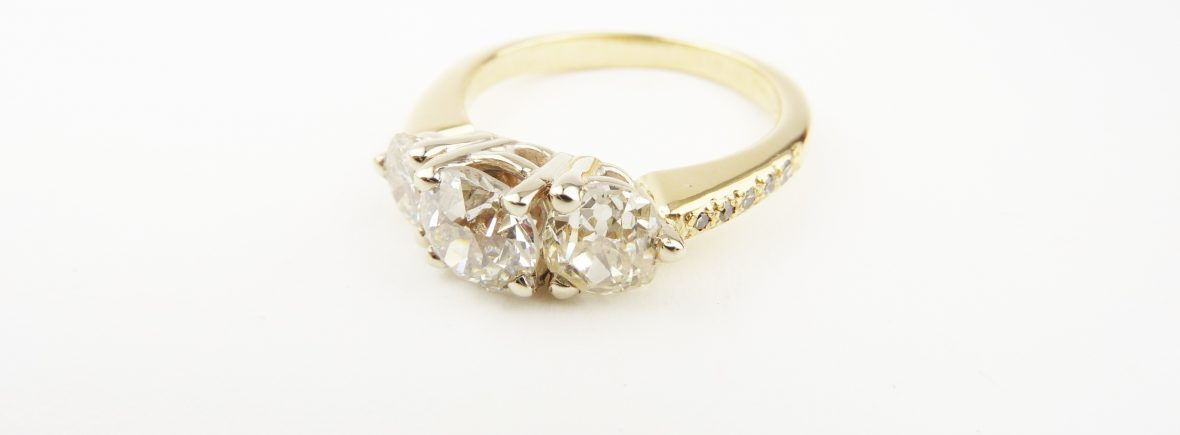 custom the model usa ring rings rose made engagement jewellery gold in