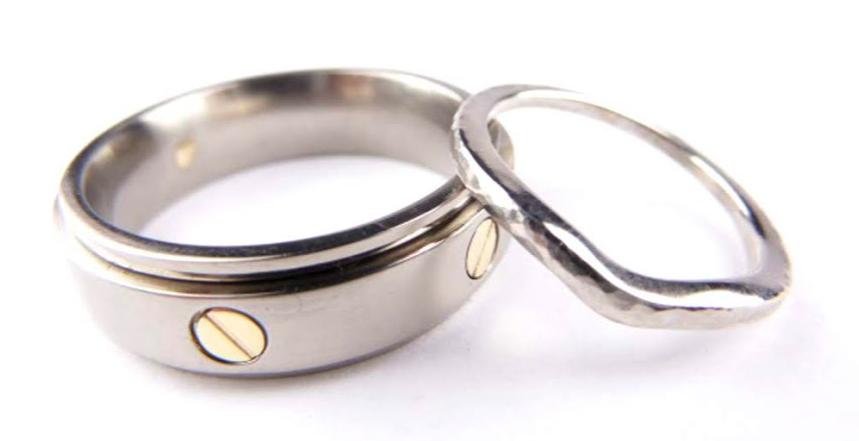 Custom-Made Wedding Ring - 12