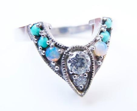 Custom-Made Wedding Ring - 6