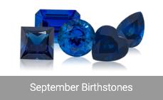 Sapphire- September Birthstone
